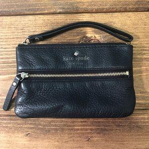 Kate Spade Pebbled Leather Wristlet